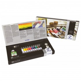 Royal Talens Van Gogh oil colour paint sets 20 mL tubes 6 or 10+ accessories