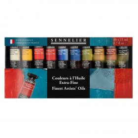 oil paints Sennelier fine artists oil paint 10x 21ml tubes