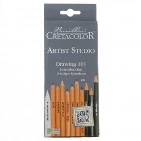 Brevillier's Cretacolor Artist Studio Line Drawing Set 101 introduction