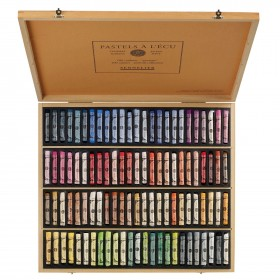 Sennelier soft pastels portrait set wooden box 100 sticks