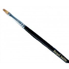 Regal Sable Brush Flat - Number 6, Single Brush