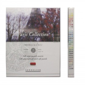Sennelier Extra Soft Pastel 120 colours Paris Collection Set Half Pastels