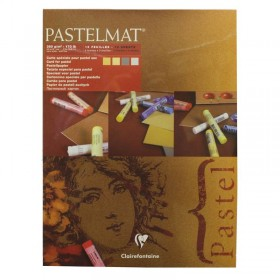 Clairefontaine Pastelmat Pad pastel artist card 4 Shades 360g 30cm x 40cm 12 Sheets