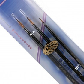Royal & Langnickel Round Majestic Brush for Acrylic Watercolour Set RMAJ-102