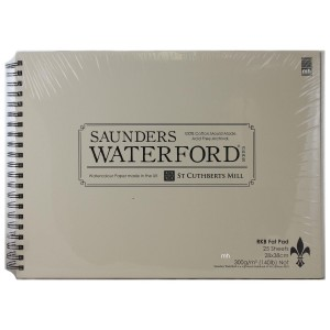 RKB Fat Pad Saunders Waterford watercolour Paper Pad 28x38cm,