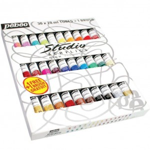 acrylic starter set studio paint