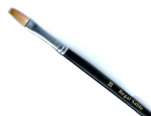Watercolour Regal Sable artist flat brush size 10