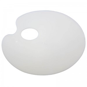 Royal & Langnickel small oval plastic palette RD44P
