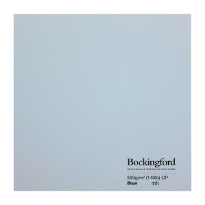 Bockingford Watercolour paper sheet Blue
