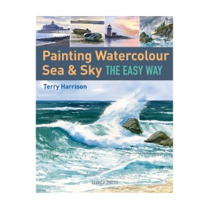 Terry Harrison Painting Watercolour Sea & Sky the Easy Way