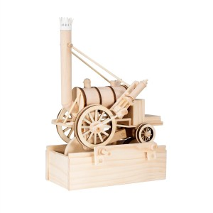 Timberkits Stephenson's Rocket wooden model flatpack kit