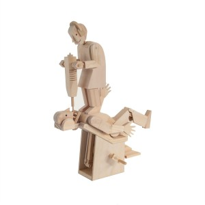 Timberkits Demon Dentist automaton wooden model flatpack kit