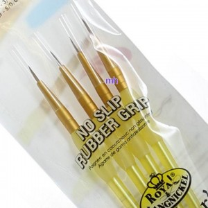 Royal & Langnickel artists choice craft brush set sable hair RCC-205