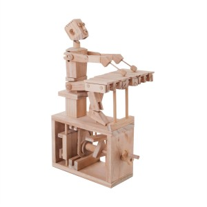 timberkits wooden model of xylophone player kit