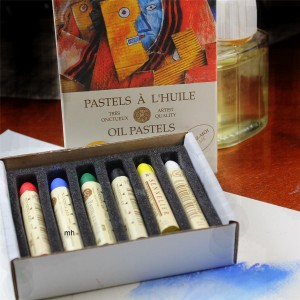 Sennelier Oil Pastels 6 Assorted Discovery Colours