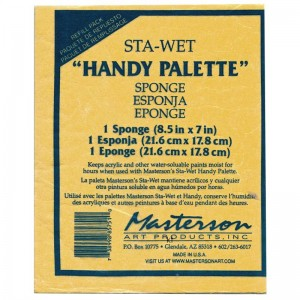Marstons sta-wet sponge refill for handy palette