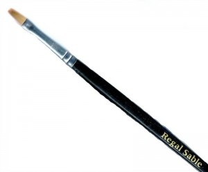 Discounted regal Sable artist brushes size 6