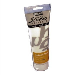 Pebeo studio Acrylic Auxiliaries Modeling Relief Paste 250ml