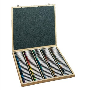 Sennelier Oil Pastel Assorted Set Of 120 wooden box set