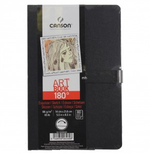 canson art book 180 A5 96gsm