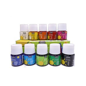 Pebeo Vitrail waterbased glass paint 10X45ml Assorted