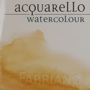 "Fabriano Artistico 2 sheets of 20"" x 15"" cold Press paper 200gsm"