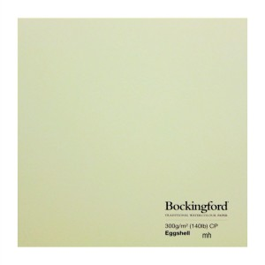 "Bockingford watercolour paper Eggshell 4 sheets of 15"" x 11"" cold Press 300gsm (140lbs)"