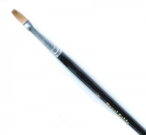 Regal Sable Brush Flat - Number 8, Single Brush
