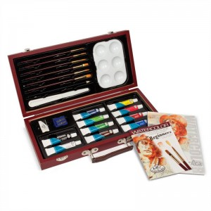 Royal and Langnickel essential watercolour painting set RSET-WAT3000