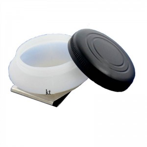 Artist's Single plastic dipper with lids, clips on to side of palette