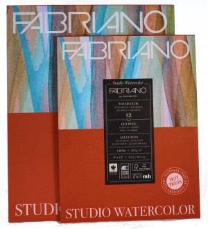 Fabriano Studio watercolour pad