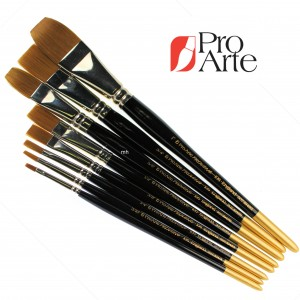 Series 106 Prolene One Stroke Flat pro arte brushes