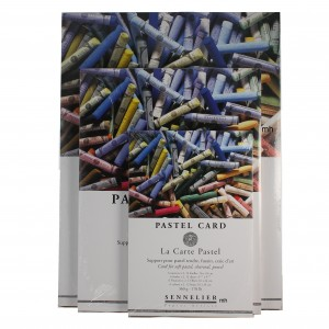 Senellier soft pastel card pad 6 colours