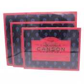 Canson L'Aquarelle Heritage Block Hot press watercolour paper 300gsm 20 sheets