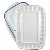 Mijello artists painting Folding Plastic Palette 24 Airtight