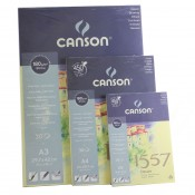 Canson 1557 Glued Pad 30 Sheets 180gsm sketching paper pad