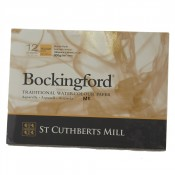 "Bockingford Watercolour Pad Glued Paper 12 Sheets 7"" x 5"" Rough"
