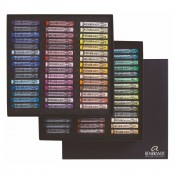 Royal Talens Rembrandts artist quality 90 soft pastels box, landscape or portrait