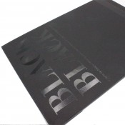 Fabriano Black Black drawing paper pad A4 20 sheets 300gsm