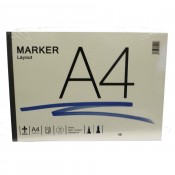 R K Burts Marker Layout Pad A4 75gsm 75 sheets Bleedproof