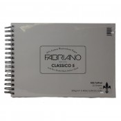RKB Fat Pad A4 Fabriano 5 Hot Press 300gsm (140lb) 25 Sheets Watercolour Pad