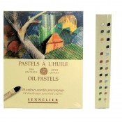 Sennelier Oil Pastels - 24 Landscape Assorted Colours