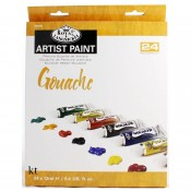 Royal & Langnickel Artist Paint 24 colour Set Gouache