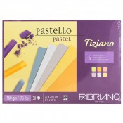 Fabriano Tiziano 6 Soft Colours Pastel Paper 30 sheets 160gsm A4