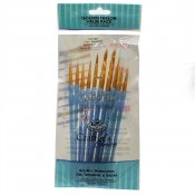 RCC-301 Royal Brush Crafter Choice Golden taklon Value set 11pc set