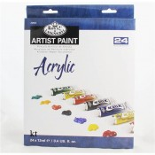 Royal & Langnickel Artist Paint 24 Pc Set - Acrylic