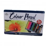 Royal & Langnickel Colour Pencil Drawing Set 36pc tin