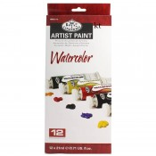 Royal & Langnickel Watercolour Artist Paint - 12x 21ml Tubes