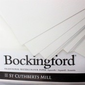 "Bockingford 2 sheets of 22"" x 15"" cold Press paper 300gsm (140lbs) watercolour Paper"
