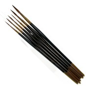 Pro Arte Professional Artists' Series RSR, Renaissance Sable Rigger - Single Brush